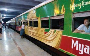 Mandalay to Bagan by Train