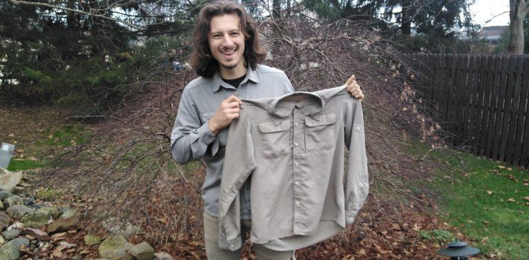 Gear Review: Mountain Hardware Canyon Long-Sleeve Hiking Shirt