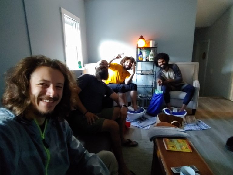 Maine Roadhouse (New Trail Hostel) and Going to Church | Appalachian Trail 2021 | Days 208 209 210